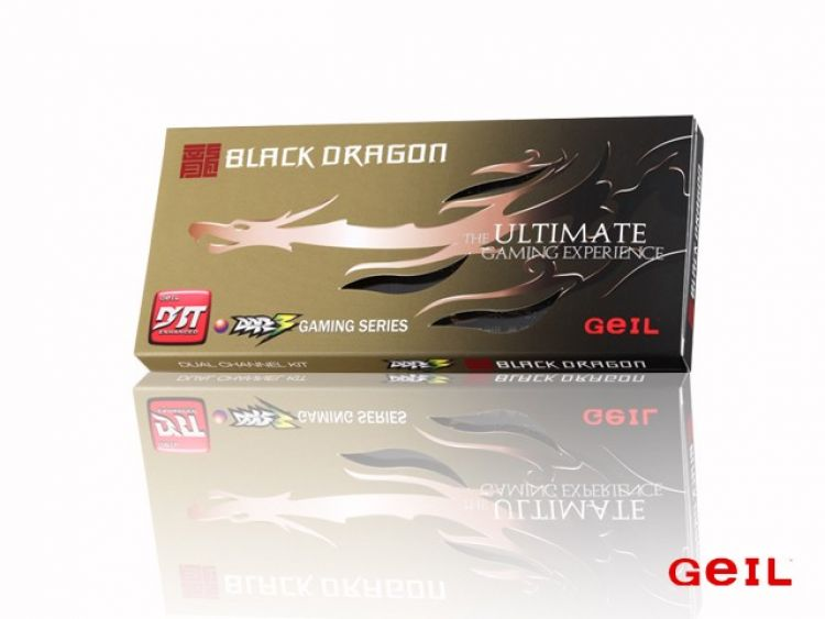 GEIL DDR3 Black Dragon  8GB/ 1600 (2*4GB) CL9-9-9 NA MAGAZYNIE!