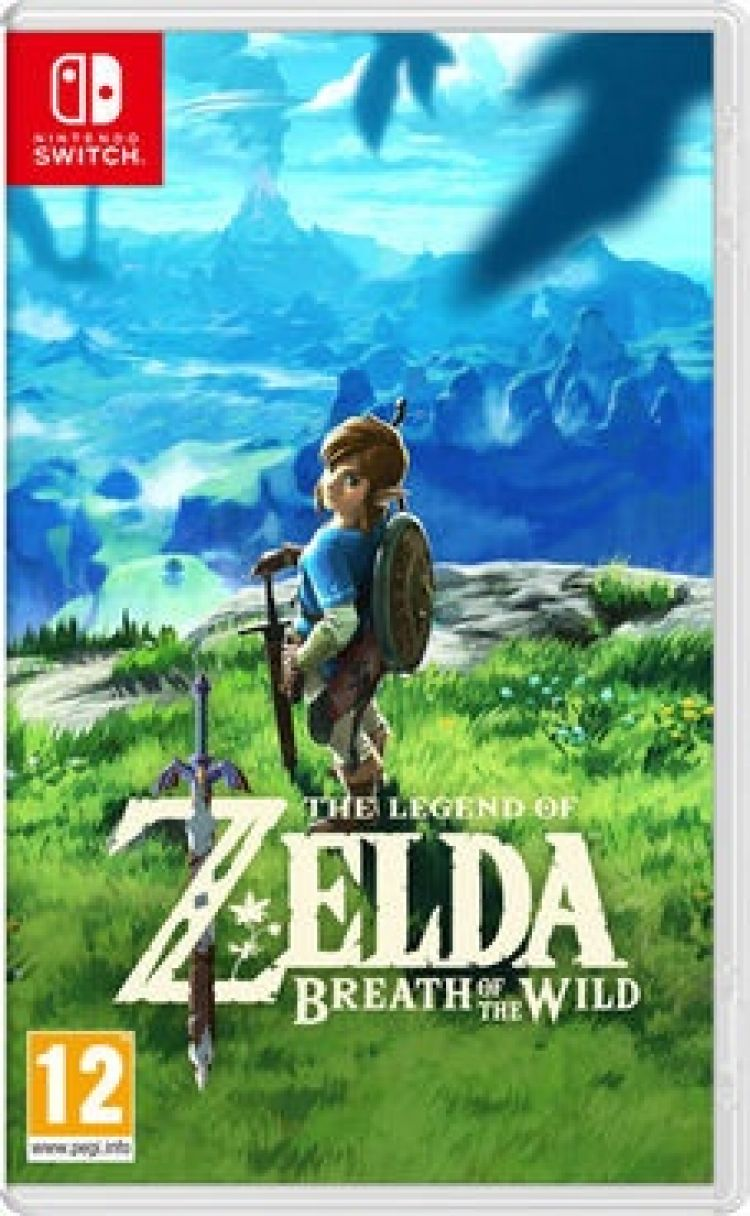 Nintendo SWITCH The Legend of Zelda: Breath of the Wild DOSTĘPNY OD RĘKI!