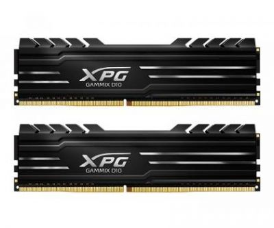 ADATA XPG Gammix D10 DDR4 16GB 3200MHz, CL16, Black Heatsink Edition