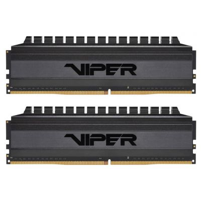 Patriot Viper 4 BLACKOUT 16GB KIT (2x8GB) 3200 Mhz CL16-18-18-36